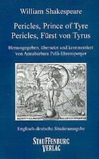 Pericles, Prince of Tyre / Pericles, Fürst von Tyrus William Shakespeare