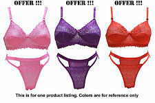 LOVELY SEXY BRIDAL LINGERIE SET - BRA PANTY SET - [MIXED COLOR] [SG LOVELY]