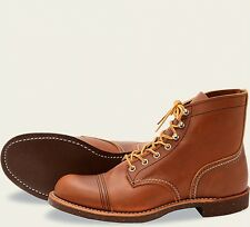 Red Wing  Mens Boots 8112 Iron Ranger Heritage Work Oro Russet Portage -Tan
