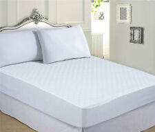 """17"""" EXTRA DEEP LUXURY QUILTED MATTRESS PROTECTOR FITTED SHEET COVER - ALL SIZES"""