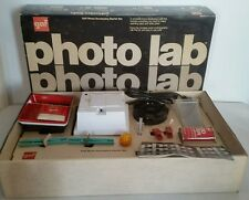 NEW RARE Vintage Gaf Photo Lab developing Starter Kit Black & White Prints