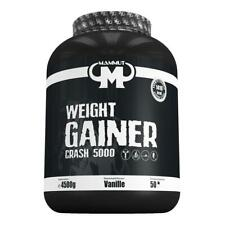 (6,44 Eur/kg) Mammut Weight Gainer Crash 5000 4500g Dose Kohlenhydrate