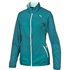 Puma Night Cat Reflective Womens Lightweight Zip Up Jacket 513026 02 EE41