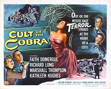 MEN's T SHIRT tshirt horror retro classic Cult of the Cobra 50s movie Domergue