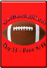 2014 Topps Platinum NFL - Finish Your Set - WE COMBINE S/H