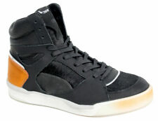 Puma McQ Alexander McQueen Move Mid Womens Trainers Black Leather 359350 01 D34