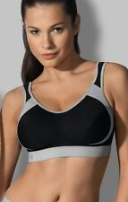 ANITA ACTIVE Extreme Control SPORTS BRA in Black 5527 HIGH LEVEL