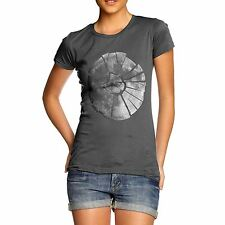 Twisted Envy Women's Shattered Moon T-Shirt
