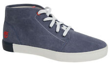 Timberland Newport Baie hommes à lacets toile CHAUSSURES BLEU a18gl U92