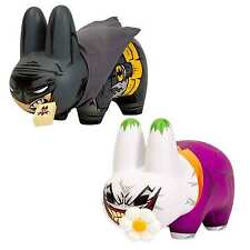 KIDROBOT Limited Edition DC Comics Batman & The Joker Labbit Urban Vinyl Figure