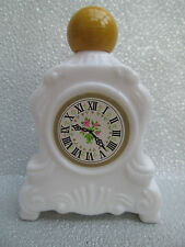 A Beautiful Vintage Glass Perfume Bottle - Carriage Clock 1960's - 1970's