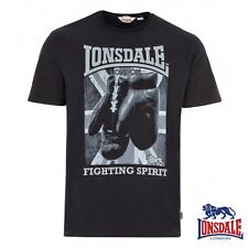 Lonsdale London Camiseta T-Shirt Newtown Hombres Boxing Rocky Ponche S hasta 3XL