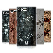 HEAD CASE DESIGNS CAVE PAINTINGS HARD BACK CASE FOR SONY XPERIA X COMPACT