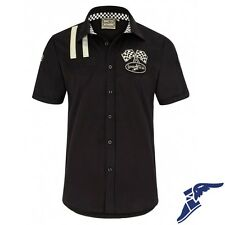 Goodyear Chemise Homme Shinrock Homme Chemise Manches Courtes Voiture Tuning