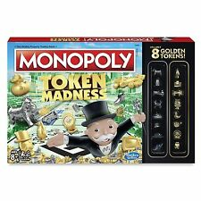 Monopoly Token Madness Game New