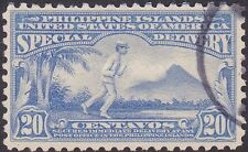 Philippines - 1916 - 10 Cents Deep Ultramarine Special Delivery Messenger # E4