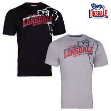 Lonsdale London Hombres Camiseta walkley CAMISETA BOXING Ponche S M L Xl Xxl 3xl