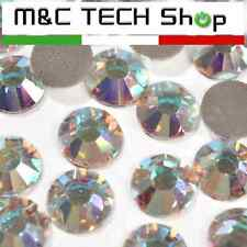 Strass termoadesivi SS20 Korean quality 5mm Cristallo AB hotfix 100 pezzi
