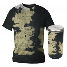 Game of Thrones Westeros Map Deluxe Edition Maglietta T-Shirt