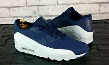 BNWB & Genuine Nike Air Max 90 Ultra Moire Obsidian Blue Trainers UK Size 9.5
