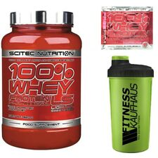 Scitec Nutrition 100% Whey Protein Professional LS 920g Eiweiss + Shaker + Probe