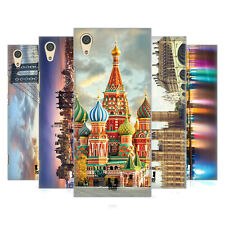 HEAD CASE DESIGNS CITY SKYLINES HARD BACK CASE FOR SONY PHONES 1