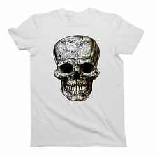 Mens/Ladies T-Shirt Cat SKULL Funny Unisex Birthday Gift by Buzz Shirts
