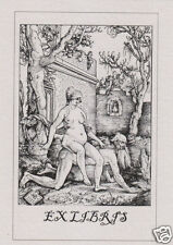 EX LIBRIS BOOKPLATE Aristotle and Phyllis