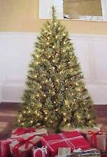 New Holiday Time Pre-Lit Lighted 4' Indiana Spruce Artificial Christmas Tree