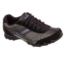 NEU SKECHERS Damen Sneakers Turnschuh Memora Foam BIKERS - SYSTEMATIC Schwarz