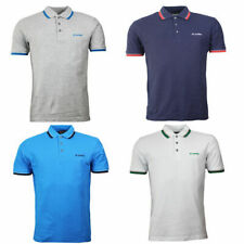 Lotto Twin Tipped Polo Shirt Top Mens Cotton Short Sleeve T-Shirt S15LTAM006 WH