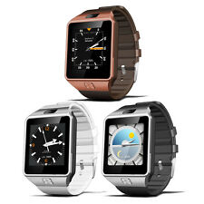 QW09 Android 3G Smartwatch Telefon MTK6572 1.2GHz Dual Core 512MB Pedometer BT