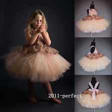 2017 New Cross Strap Tutu Flower Girls Dresses French Lace Formal Gowns Wedding