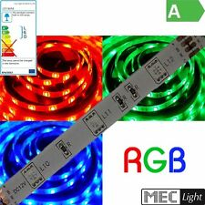 9€/m0,50m-5m RGB LED Strisce -wasserdicht- 60 x 3 il Chip SMD LED/m 12V IP63