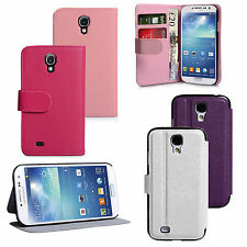 Yousave Accessories PU Leather Wallet Folio Phone Cover Case Samsung Galaxy S4
