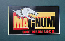 MAGNUM DECAL STICKER NEW APPROX 60mm LONG