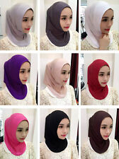 Women New Style Hijab Muslim Scarf Islamic Bone Bonnet Ninja Hijab Headwear New