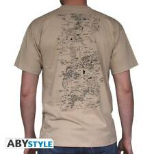 GAME OF THRONES - Tshirt Map man SS sand - basic