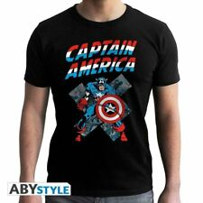 MARVEL - Tshirt CA Vintage man SS black - new fit