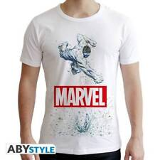 MARVEL - Tshirt Marvel Hulk man SS white - new fit
