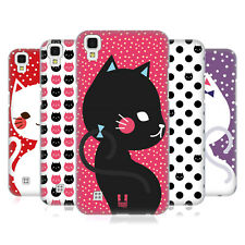 HEAD CASE DESIGNS CATS AND DOTS HARD BACK CASE FOR LG PHONES 2