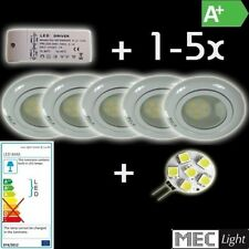 1-5x G4 LED FOCOS EMPOTRADOS SET COMPLETO+Lámpara LED + transformador