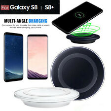 Qi Wireless Caricatore Caricabatterie Pad For Samsung Galaxy S8/S8 Plus /S7 Edge