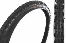 "PAIR MTB TYRES 26x1.95"" TRACTOR KNOBBLY MOUNTAIN BIKE TREAD SUIT 26x1.75-2.10"""