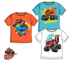 Blaze and The Monster Machines T-Shirt. Kids Boys Clothes Top