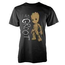 Marvel Guardians Of The Galaxy Vol 2 - I Am Groot Scribbles (NEW MENS T-SHIRT )