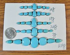 ~Lot~ SLEEPING BEAUTY Turquoise Matching Cabochon cabs sets