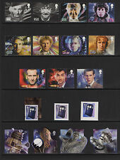 2013 Single Stamps of All Dr Who or Tardis - 18 choices ( SG 3437 - SG 3452 ) UM
