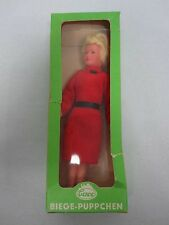 CACO BIEGE PUPPCHEN LADY IN RED DRESS DOLL MINT IN BOX 5
