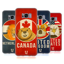 HEAD CASE DESIGNS PATRIOTIC ANIMALS SOFT GEL CASE FOR SAMSUNG GALAXY S8
